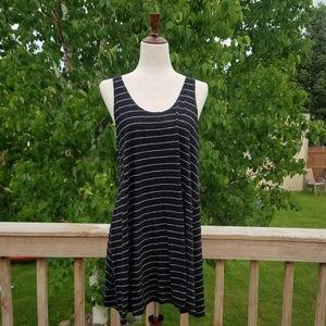 Lou & Grey Linen Striped Dress